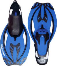 Ласты Mad Wave Turbulence 38-41 Blue